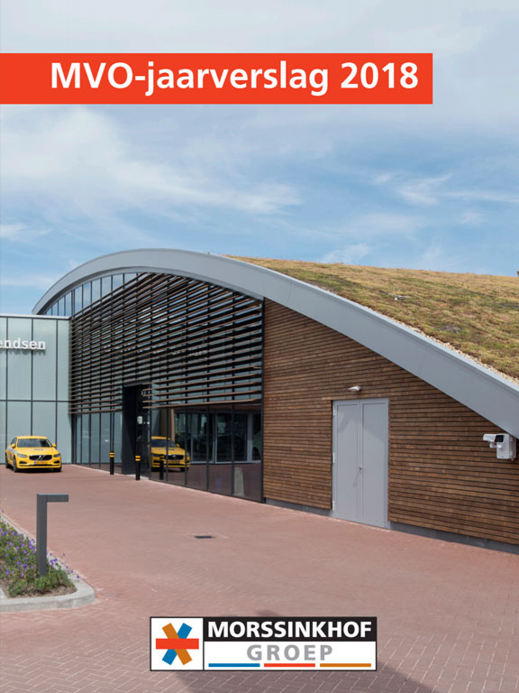 Morssinkhof Groep presenteert MVO-jaarverslag 2018