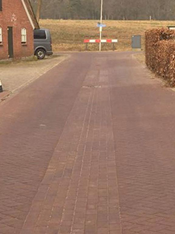 Dualton-stenen geleverd in Gemeente Hof van Twente